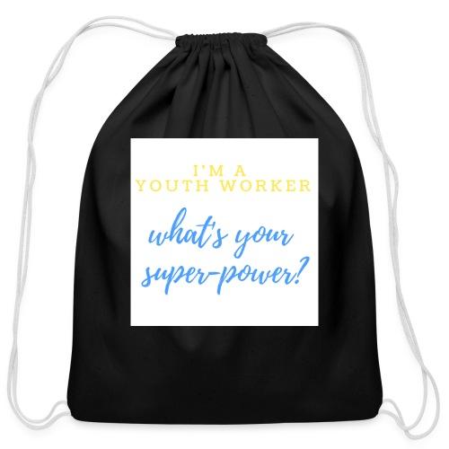 Super Hero - Cotton Drawstring Bag