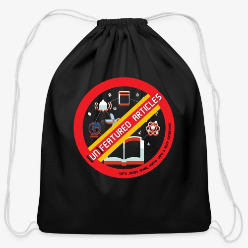unFeatured Articles Logo - Cotton Drawstring Bag