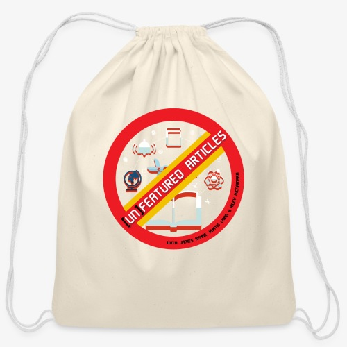 unFeatured Articles Logo - Cotton Drawstring Bag
