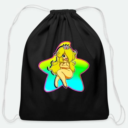THICC ROSA - Cotton Drawstring Bag