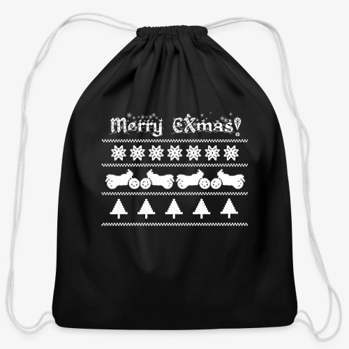 Merry CXmas! - Cotton Drawstring Bag