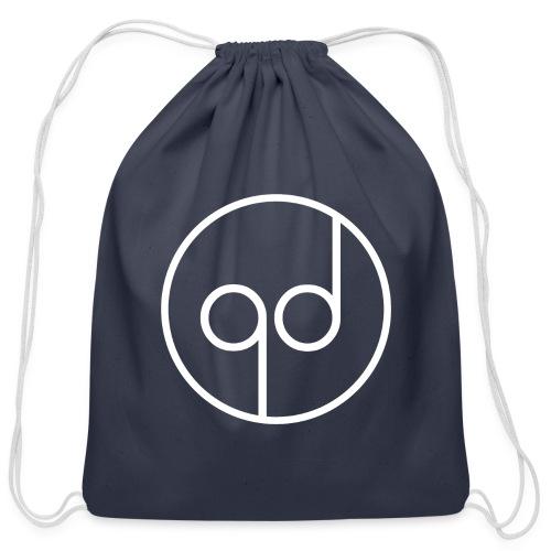 White Icon - Cotton Drawstring Bag