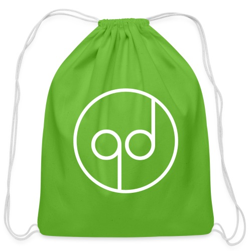 White Icon - Cotton Drawstring Bag