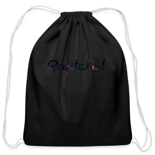 My YouTube Watermark - Cotton Drawstring Bag