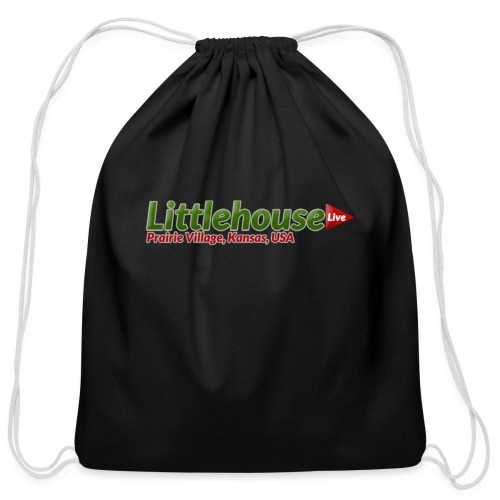 Littlehouse Logo - Cotton Drawstring Bag