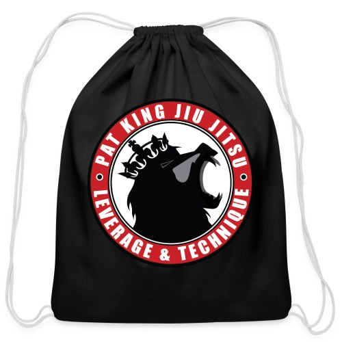 PK Merch grey22 - Cotton Drawstring Bag