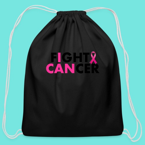 FIGHT CANCER - Cotton Drawstring Bag