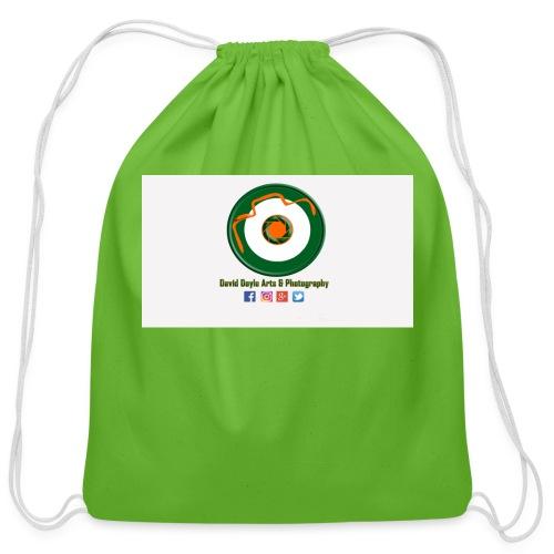 David Doyle Arts & Photography Logo - Cotton Drawstring Bag