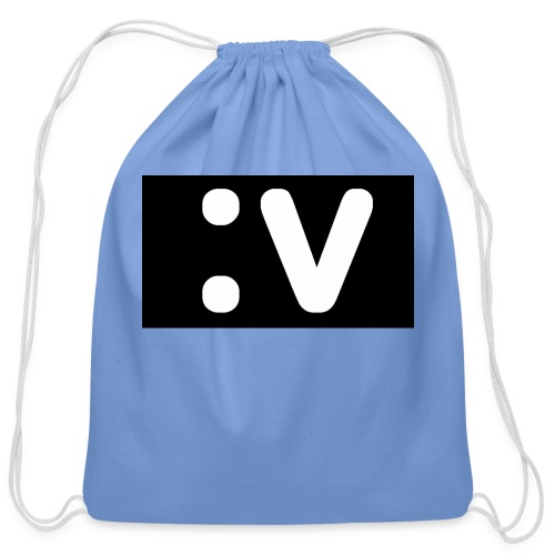 LBV side face Merch - Cotton Drawstring Bag