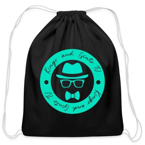 Kings and Gents TV Logo - Cotton Drawstring Bag