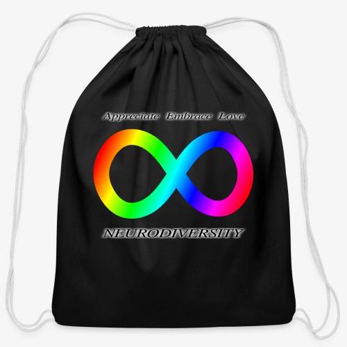Embrace Neurodiversity - Cotton Drawstring Bag