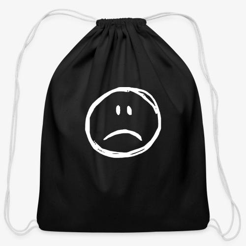 :( - Cotton Drawstring Bag