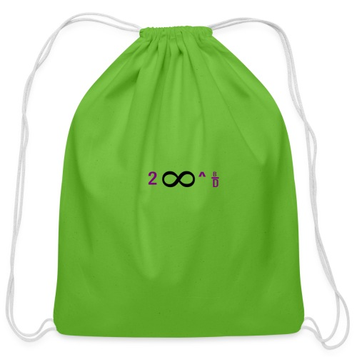 To Infinity And Beyond - Cotton Drawstring Bag