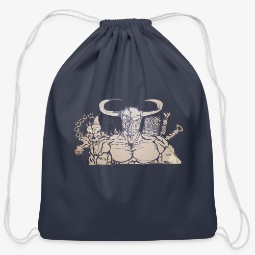 bdealers69 art - Cotton Drawstring Bag