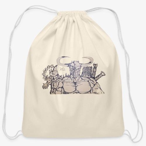 bdealers69 art - Cotton Drawstring Bag