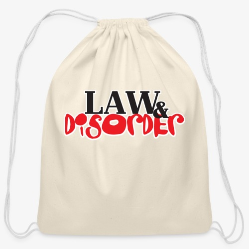 Law DISORDER Logo - Cotton Drawstring Bag