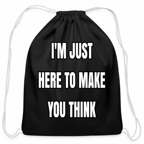 IJHTMYT (White Font) - Cotton Drawstring Bag