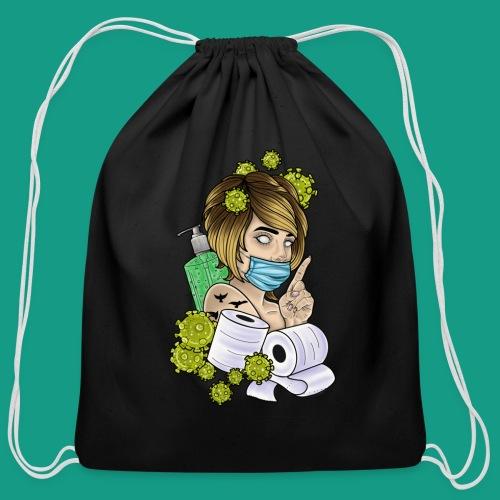 COVID Karen - Cotton Drawstring Bag