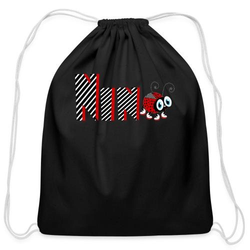9nd Year Family Ladybug T-Shirts Gifts Daughter - Cotton Drawstring Bag