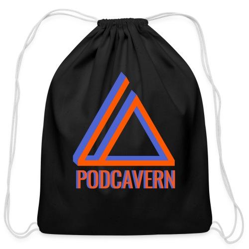 PodCavern Logo - Cotton Drawstring Bag
