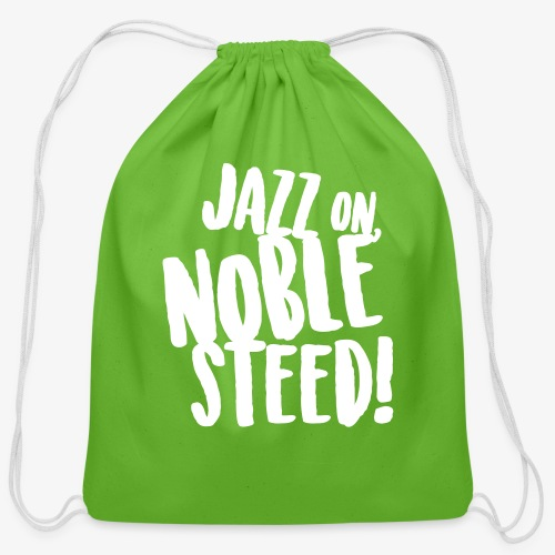 MSS Jazz on Noble Steed - Cotton Drawstring Bag