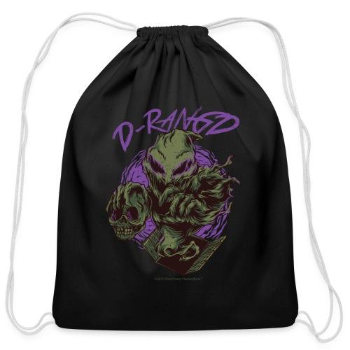 D-RaNGD Voodoo Ghost Logo - Cotton Drawstring Bag