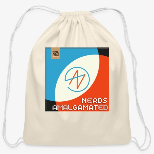 Top Shelf Nerds Cover - Cotton Drawstring Bag