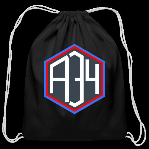Adrian 34 LOGO - Cotton Drawstring Bag