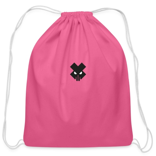 T.V.T.LIFE LOGO - Cotton Drawstring Bag
