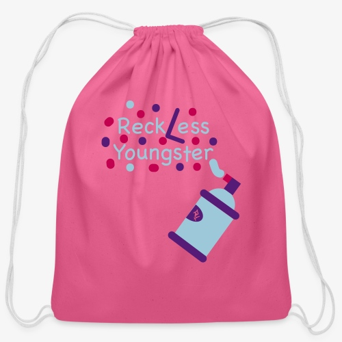 reckless youngster boys - Cotton Drawstring Bag