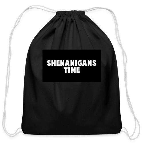 SHENANIGANS TIME MERCH - Cotton Drawstring Bag