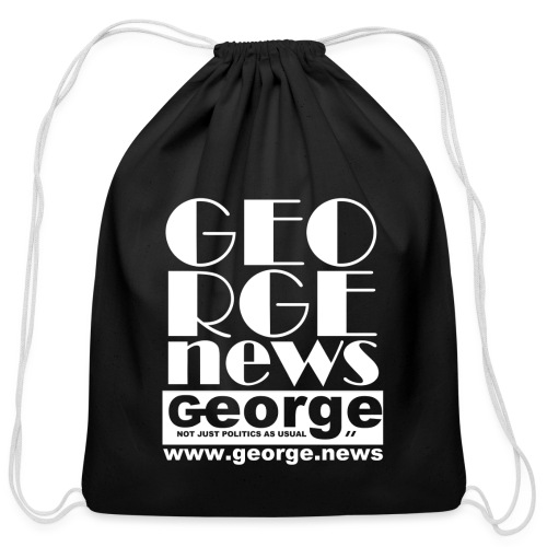 WE ARE GEORGE - Cotton Drawstring Bag