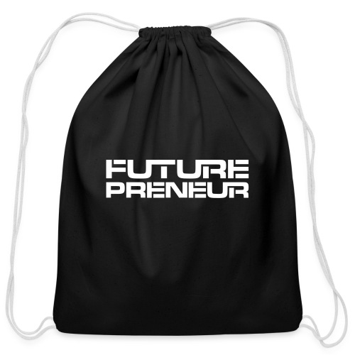 Futurepreneur (1-Color) - Cotton Drawstring Bag