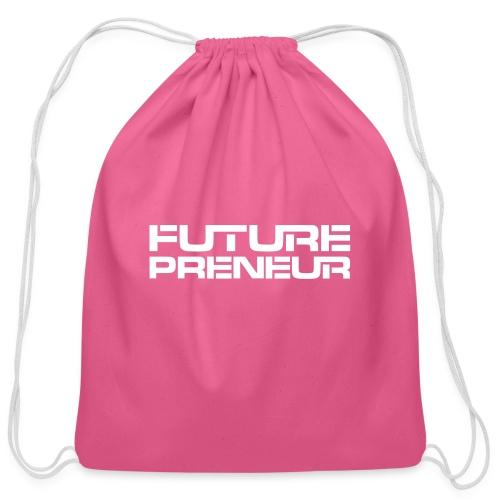 Futurepreneur (1-Color) - Cotton Drawstring Bag