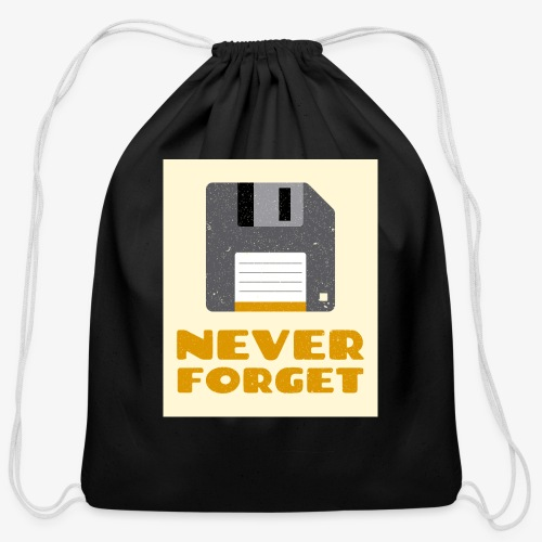 Never Forget - Cotton Drawstring Bag