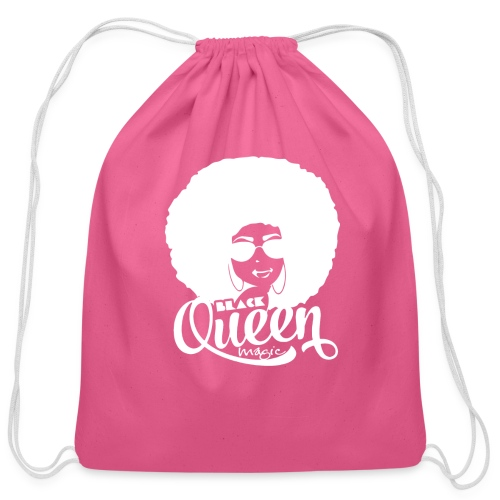 Black Queen - Cotton Drawstring Bag