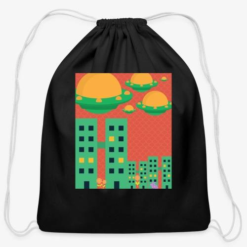 wierd stuff - Cotton Drawstring Bag