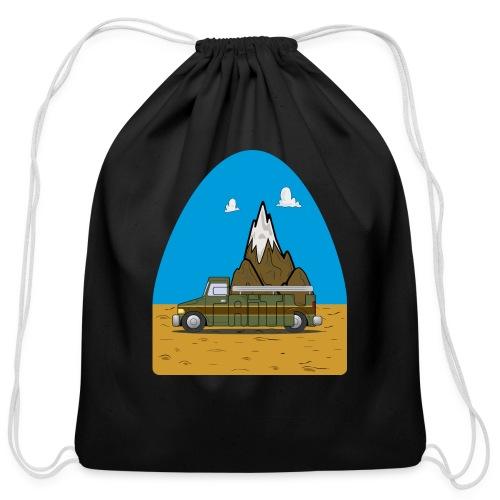 faith moves mountains 2018 - Cotton Drawstring Bag