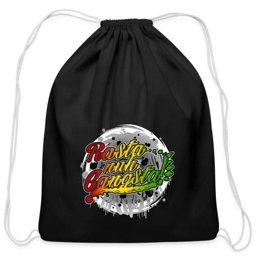 Rasta nuh Gangsta - Cotton Drawstring Bag