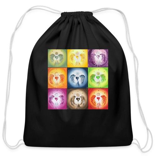 Heartangel Mix - Cotton Drawstring Bag