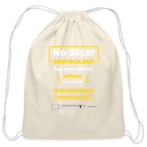 Bodybuilding Truth - Cotton Drawstring Bag