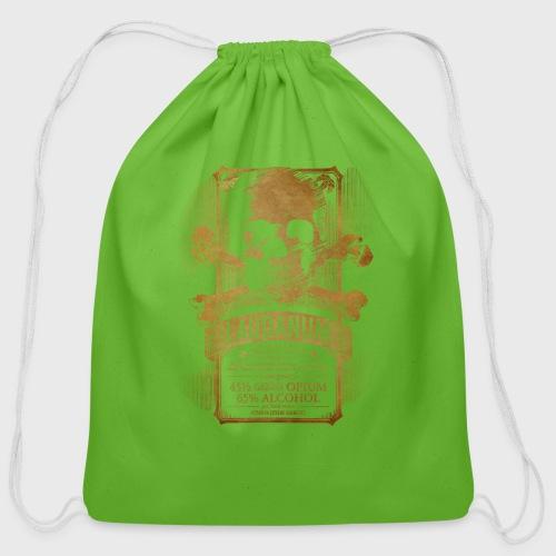 Laudanum Goth Steampunk Medical Doctor - Cotton Drawstring Bag
