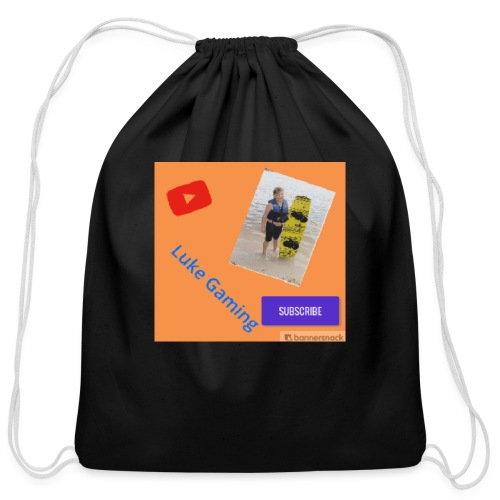 Luke Gaming T-Shirt - Cotton Drawstring Bag