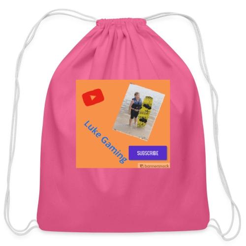 Luke Gaming T-Shirt - Cotton Drawstring Bag