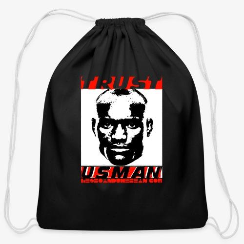Kamaru Usman - Cotton Drawstring Bag