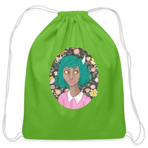 Fang - Cotton Drawstring Bag