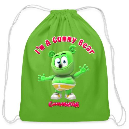 I'm A Gummy Bear - Cotton Drawstring Bag