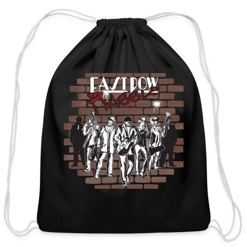East Row Rabble - Cotton Drawstring Bag