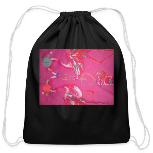 Drinks - Cotton Drawstring Bag