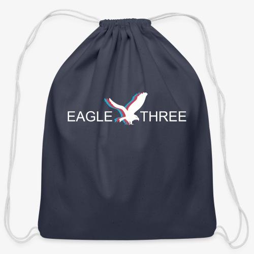 EAGLE THREE APPAREL - Cotton Drawstring Bag